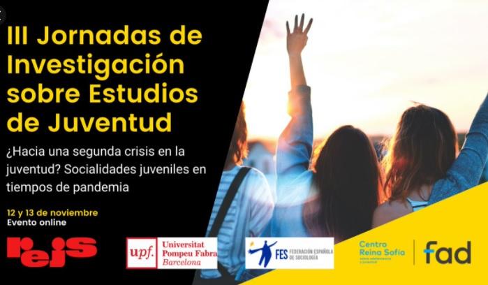 """Benjamín Tejerina is taking part in the III Jornadas de Investigación de Estudios de Juventud """"¿Hacia una nueva crisis en la juventud? Socialidades juveniles en tiempos de pandemia"""""""