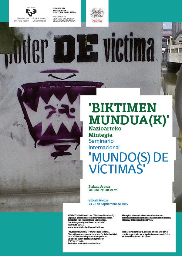 Seminario Internacional Mundo(s) de Víctimas