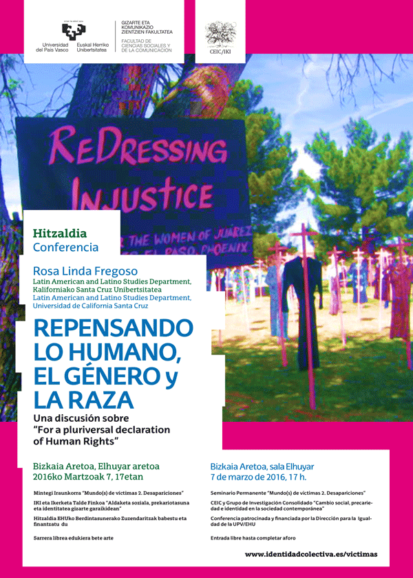 "Repensando lo humano, el género y la raza. Una discusión sobre ""For a Pluriversal Declaration of Human Rights"""